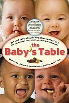 The baby's table : over 100 easy, healthy and homemade recipes for the pickiest, most deserving eaters on the planet
