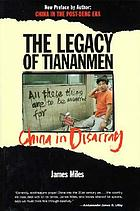 The legacy of Tiananmen : China in disarray