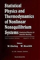 Statistical physics and thermodynamics of nonlinear nonequilibrium systems