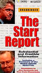 The Starr Report : substantial and credible information