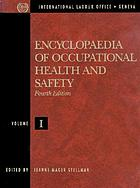 Encyclopaedia of occupational health and safety.