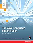 The Java language specification : Java SE 7 edition