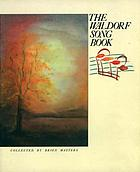 The Waldorf song book