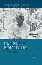 Kenneth Boulding : a voice crying in the wilderness