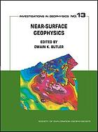 Near-surface geophysics