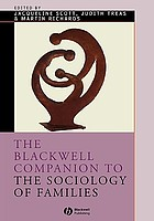 The Blackwell Companion to the Sociology of Families cover image