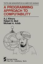 A Programming Approach to Computability