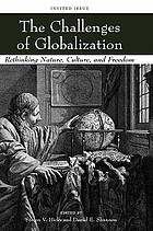 The challenges of globalization : rethinking nature, culture, and freedom