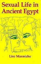 Sexual Life in Ancient Egypt cover image