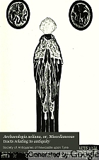 Archaeologia aeliana, or, Miscellaneous tracts relating to antiquity.