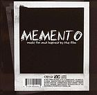 Memento : music for and inspired by the film.