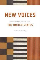 New voices : contemporary poetry from the United States