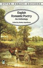 English romantic poetry : an anthology