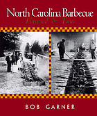 North Carolina barbecue : flavored by time