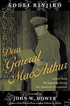 Dear General MacArthur : letters from the Japanese during the American occupation