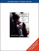 Foundations of Social Policy: Social Justice in Human Perspective cover image