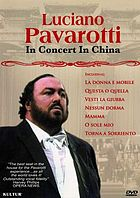 Luciano Pavarotti in concert in China