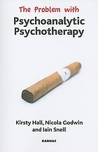 The problem with psychoanalytic psychotherapy