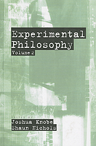 Experimental philosophy. Volume 2
