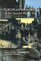 European memories of the Second World War