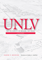 The University of Nevada, Las Vegas : a history