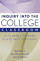 Inquiry into the college classroom : a journey toward scholarly teaching