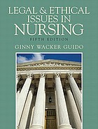 Legal & ethical issues in nursing