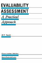 Evaluability assessment : a practical approach