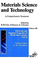 Electronic and magnetic properties of metals and ceramics
