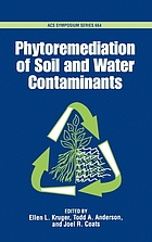 Phytoremediation of soil and water contaminants