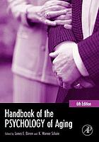Handbook of the Psychology of Aging cover image