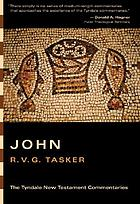 The Gospel according to John : an introduction and commentary