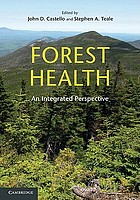 Forest health : an integrated perspective
