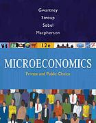 Microeconomics : private & public choice