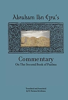 Abraham Ibn Ezra's commentary on the first book of Psalms ; Abraham Ibn Ezra's commentary on the second book of Psalms