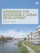 Governance for sustainable development : a foundation for the future