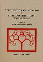 Optimization and control in civil and structural engineering