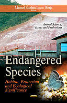Endangered species : habitat, protection and ecological significance