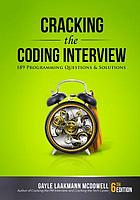 Cracking the coding interview : 189 programming questions and solutions.