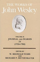 Journal and diaries IV, (1755-1765)