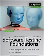 Software testing foundations : a study guide for the certified tester exam : foundation level, ISTQB compliant