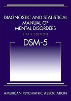 DIAGNOSTIC AND (5TH ED).