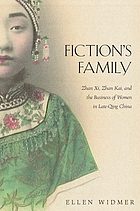 Fiction's family : Zhan Xi, Zhan Kai, and the business of women in late-Qing China