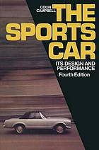 The sports car : its design and performance