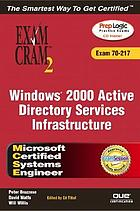 Windows 2000 Active Directory services infrastructure