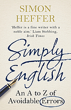 Simply English : an A-Z of avoidable errors