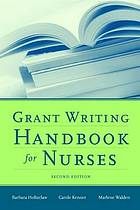 Grant writing handbook for nurses
