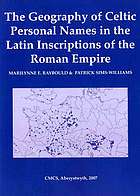 The geography of Celtic personal names in the Latin inscriptions of the Roman Empire