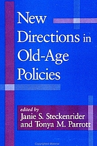 New directions in old age policies