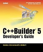 C++Builder 5 developer's guide